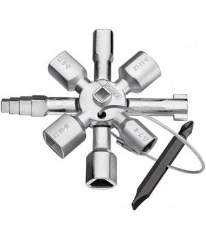 Ключи TwinKey для распространенных шкафов и систем запирания KNIPEX KN-001101