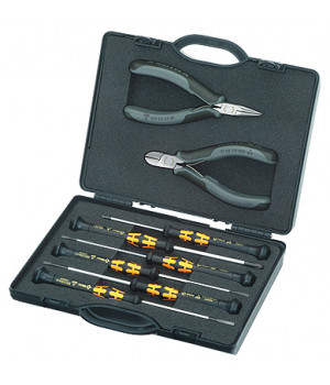 Набор плоскогубцев для работ с электронными компонентами KNIPEX KN-002018ESD