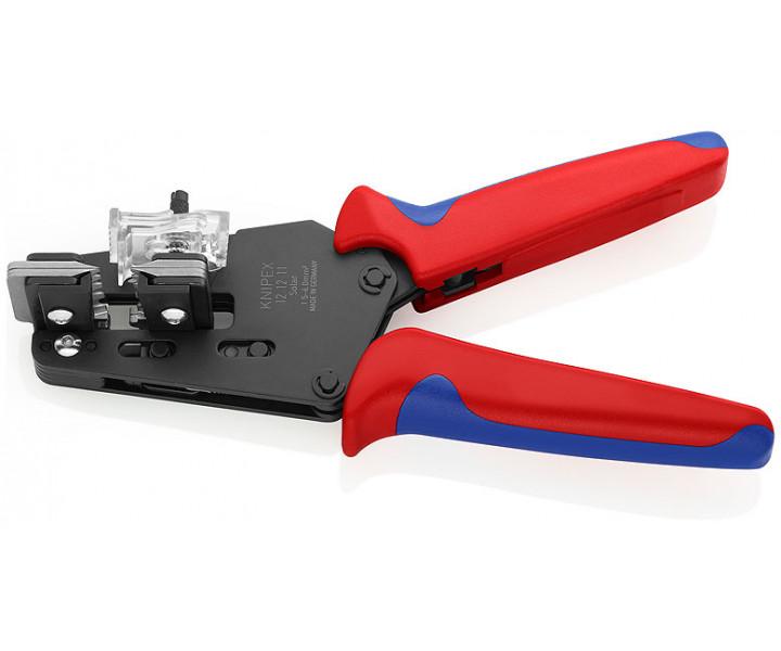 Прецизионный инструмент для удаления изоляции с фасонными ножами KNIPEX KN-121211