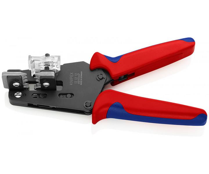 Прецизионный инструмент для удаления изоляции с фасонными ножами KNIPEX KN-121212