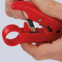 Инструмент для удаления изоляции с коаксиального кабеля KNIPEX KN-166006SB
