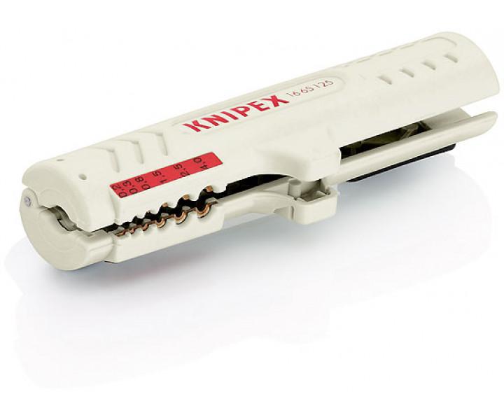 Инструмент для удаления оболочки для кабелей передачи данных KNIPEX KN-1665125SB
