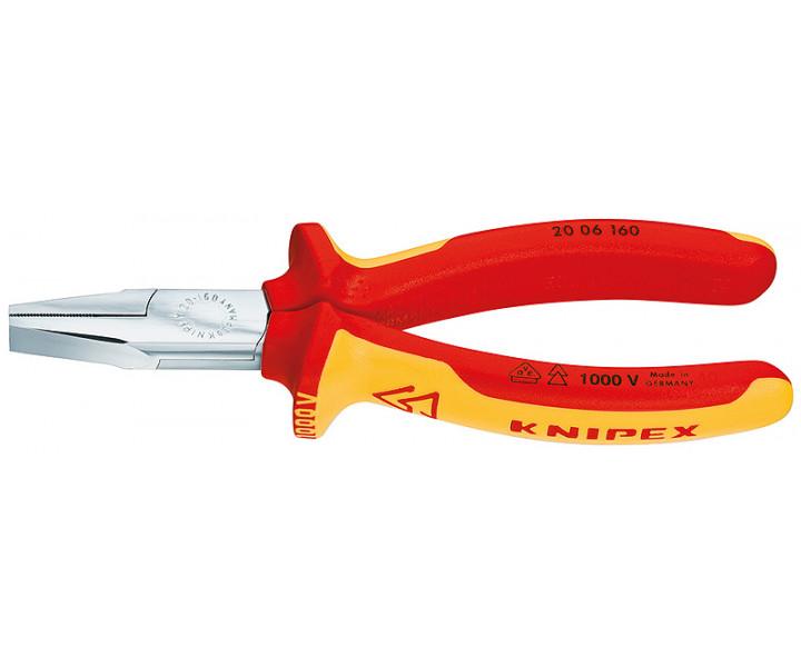 Плоскогубцы с гладкими губками KNIPEX KN-2006160