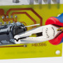 Плоскогубцы захватные, для электроники KNIPEX KN-3612130