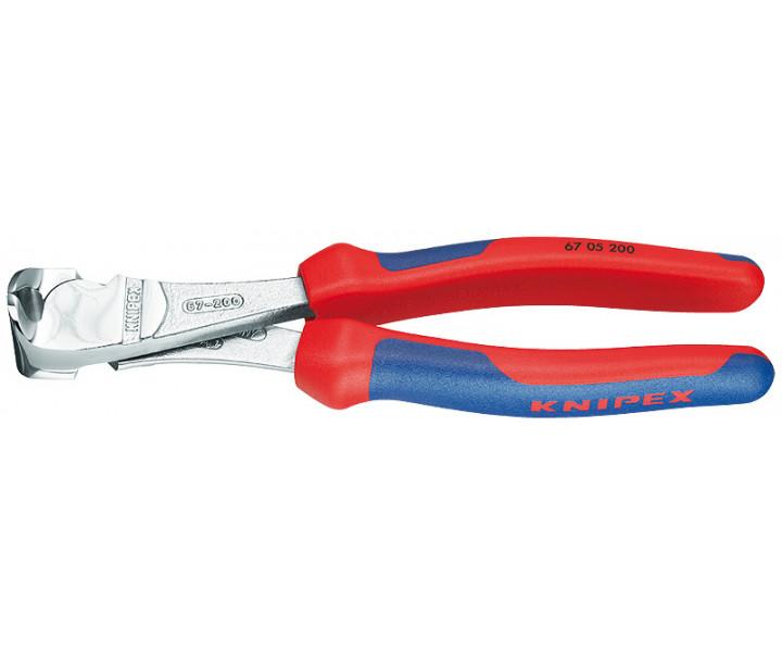 Кусачки торцевые особой мощности KNIPEX KN-6705200