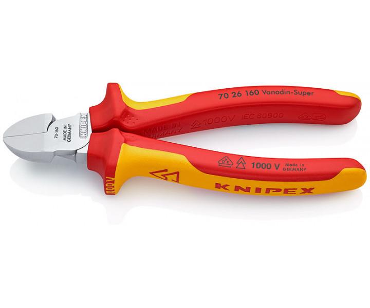 Кусачки боковые KNIPEX KN-7026160