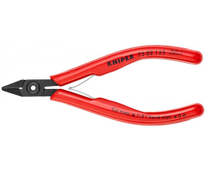 Кусачки боковые для электроники KNIPEX KN-7502125