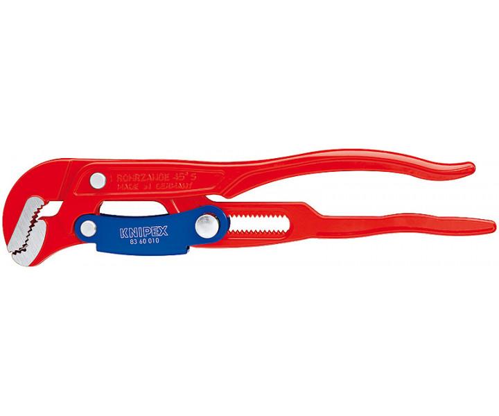Клещи трубные с S-образным смыканием губок KNIPEX KN-8360010
