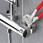 Клещи переставные-гаечный ключ KNIPEX KN-8605250T