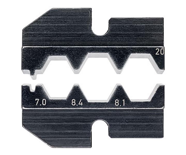 Плашка опрессовочная для штекеров F KNIPEX KN-974920