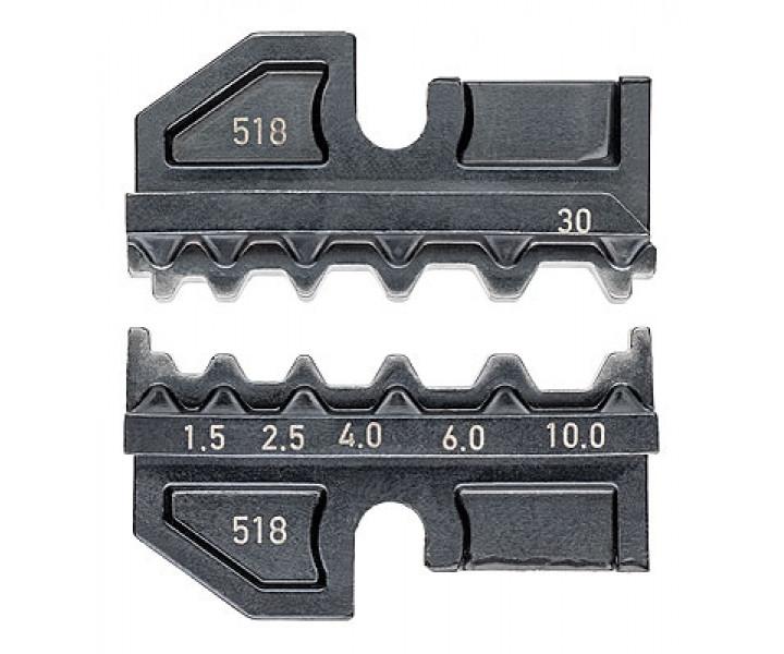 Плашка опрессовочная для контактов плоских неизолированных KNIPEX KN-974930