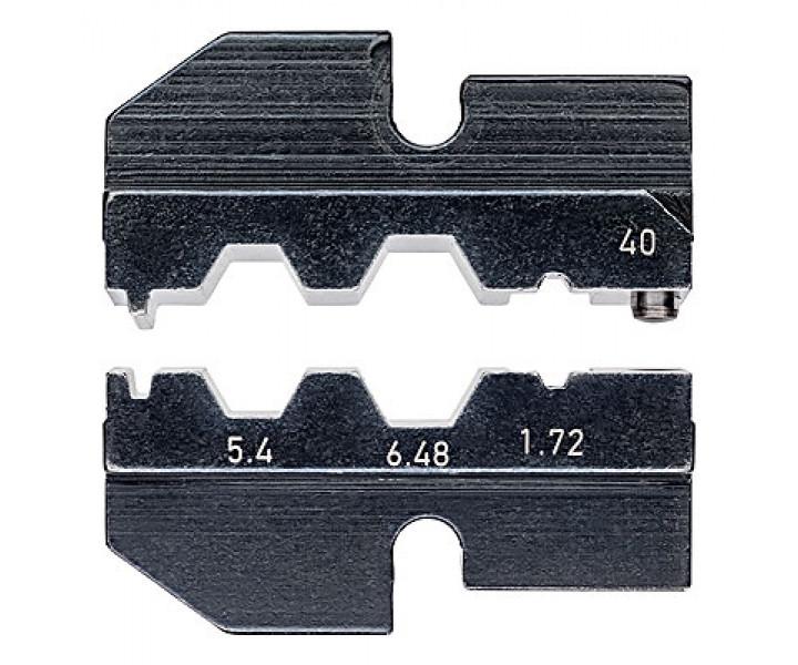 Плашка опрессовочная для коаксиального контакта KNIPEX KN-974940