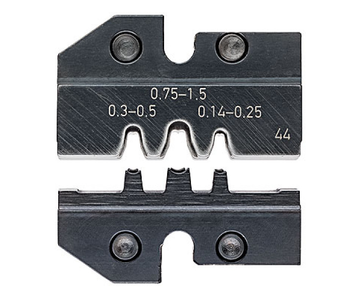 Плашка опрессовочная для контактов трубчатых KNIPEX KN-974944
