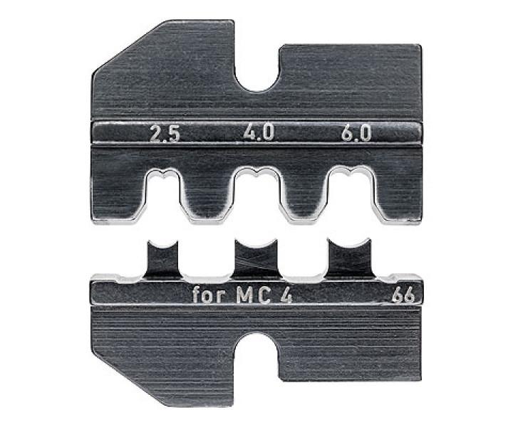 Плашка опрессовочная для штекеров Solar MC4 KNIPEX KN-974966