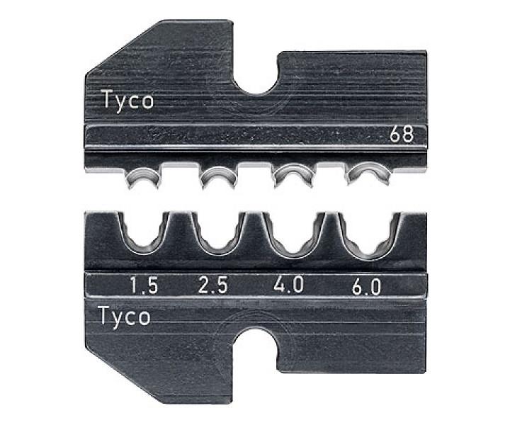 Плашка опрессовочная для точёных штекерных разъёмов KNIPEX KN-974968