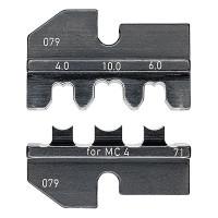 Плашка опрессовочная для штекеров Solar MC4 KNIPEX KN-974971