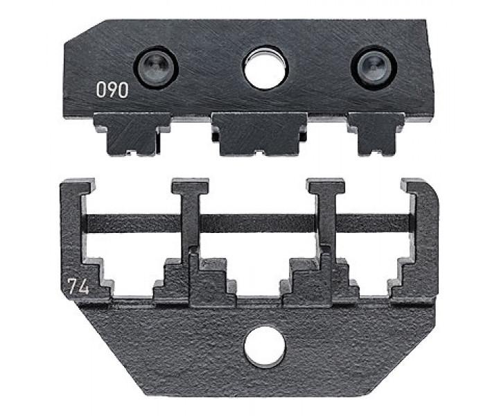 Плашка опрессовочная для штекеров KNIPEX KN-974974