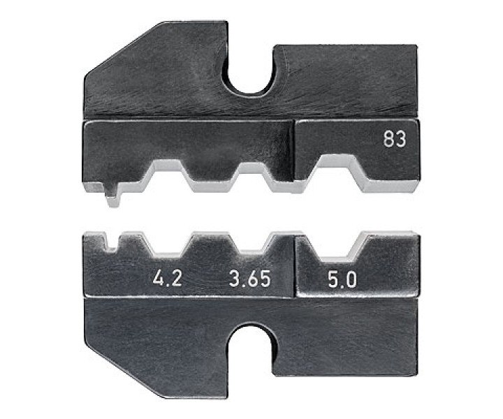 Плашка опрессовочная для штекеров FSMA, ST, SC, STSC/K KNIPEX KN-974983