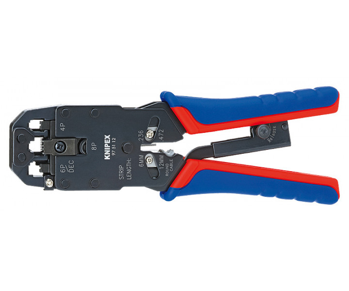 Инструмент для опрессовки штекеров типа Western KNIPEX KN-975112
