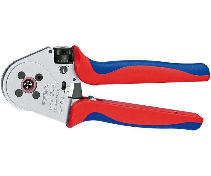 Инструмент для тетрагональной опрессовки точеных контактов KNIPEX KN-975265A