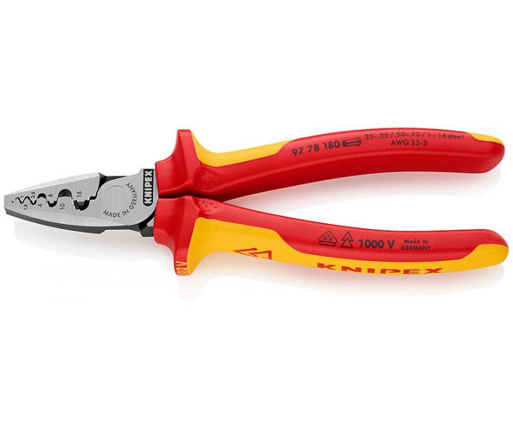 Инструмент для обжима контактных гильз KNIPEX KN-9778180