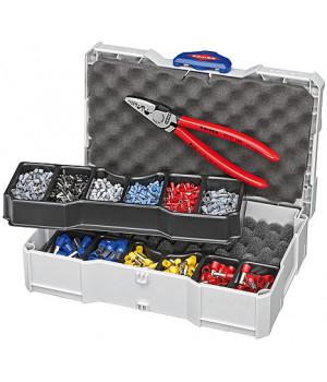 Набор кабельных наконечников для опрессовки KNIPEX KN-979006