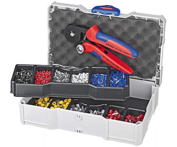 Набор кабельных наконечников для опрессовки KNIPEX KN-979009