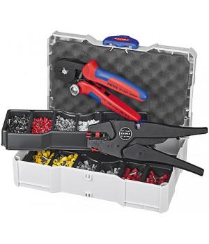 Набор кабельных наконечников для опрессовки KNIPEX KN-979010