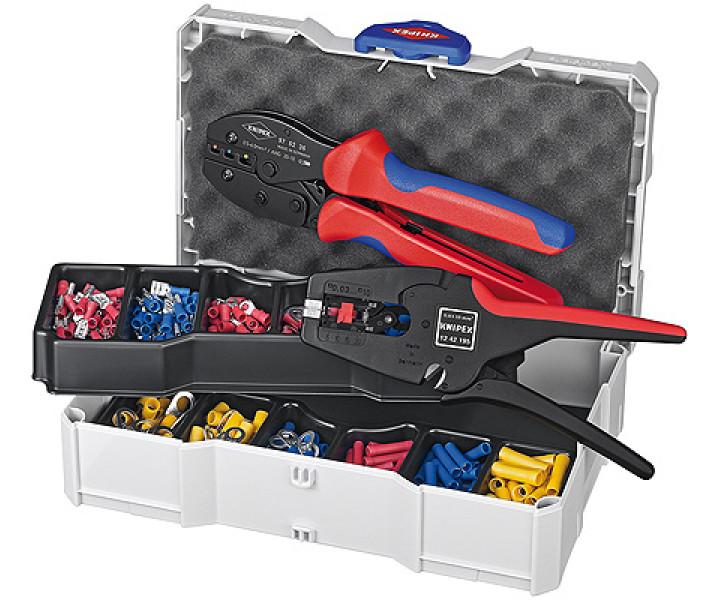 Набор кабельных наконечников для опрессовки KNIPEX KN-979022