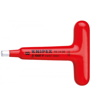 Отвертка для винтов с профилем с прочной Т-образной ручкой KNIPEX KN-981405