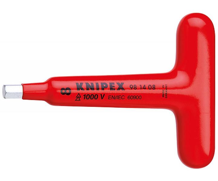 Отвертка для винтов с профилем с прочной Т-образной ручкой KNIPEX KN-981406