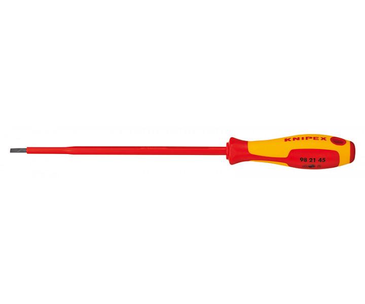 Отвертка для винтов с шлицевыми головками KNIPEX KN-982145