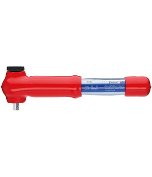 Ключ динамометрический c внешним квадратом 3/8 дюйма, переставной KNIPEX KN-983325