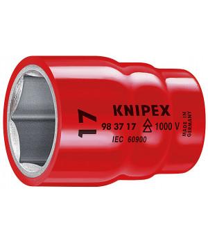 Торцовая головка для винтов с шестигранной головкой 3/8 KNIPEX KN-983710