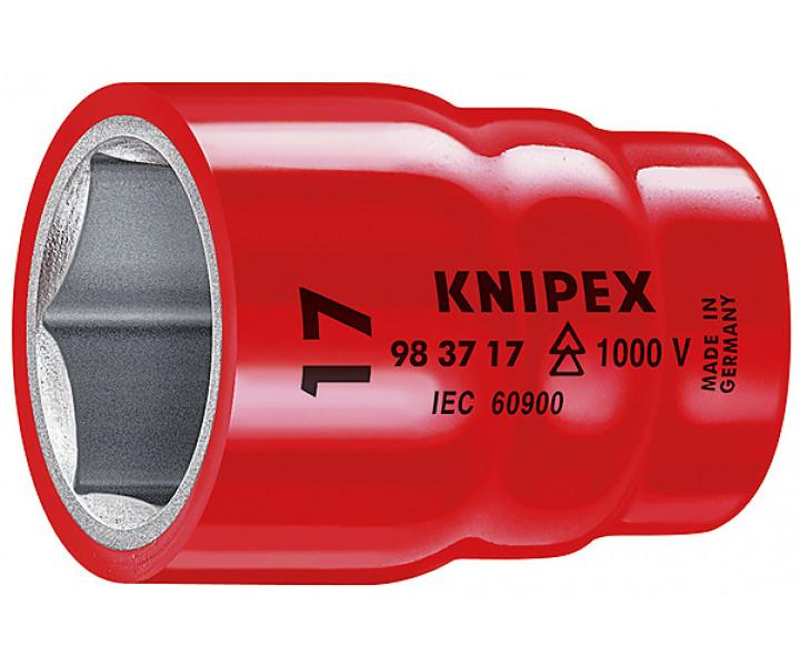 Торцовая головка для винтов с шестигранной головкой 3/8 KNIPEX KN-983712