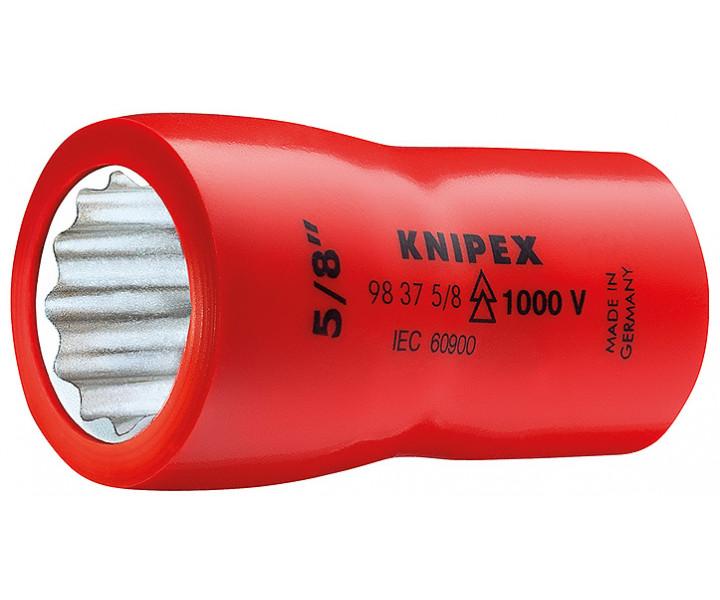Насадки для торцовых ключей с внутренним квадратом 3/8 KNIPEX KN-98375_16