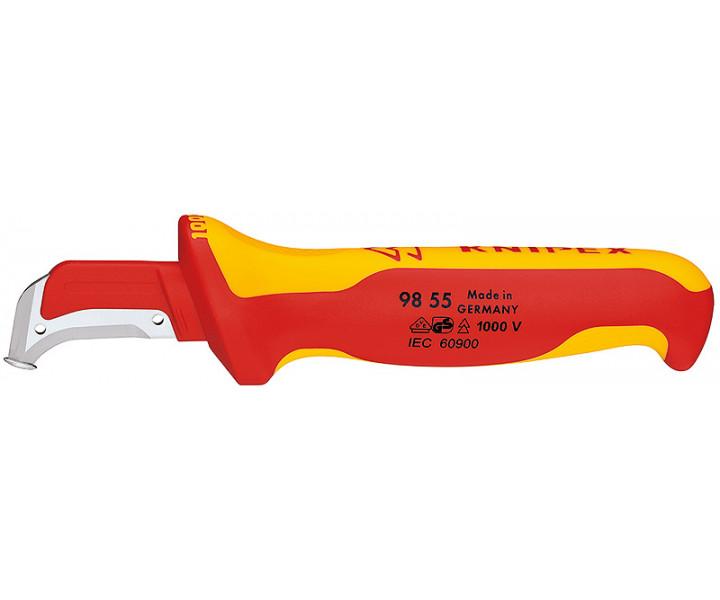 Нож KNIPEX для снятия изоляц 1000 V KN-9855SB