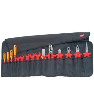 Планшет для инструментов мягкий 15 предметов KNIPEX KN-989913